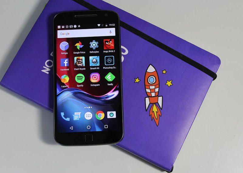 Moto G4 Plus pantalla