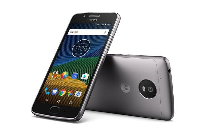 Moto G5 smartphone gama media