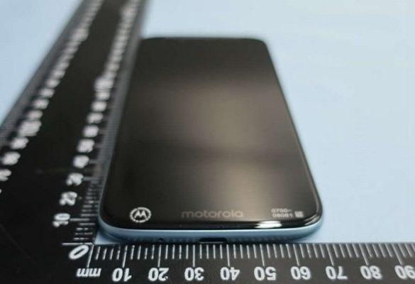 Moto G7 Play diseño