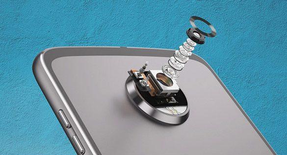 Moto Z2 Play cámara trasera