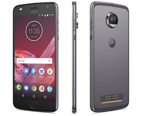 Moto Z2 Play dispositivo