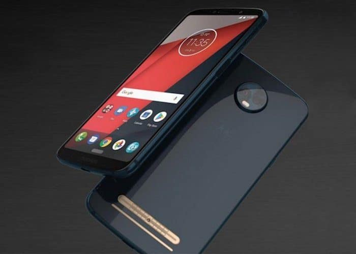 Moto Z3 Play renders