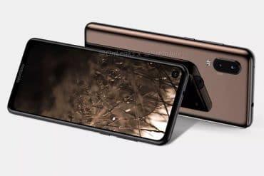 Motorola P40 diseño filtrado