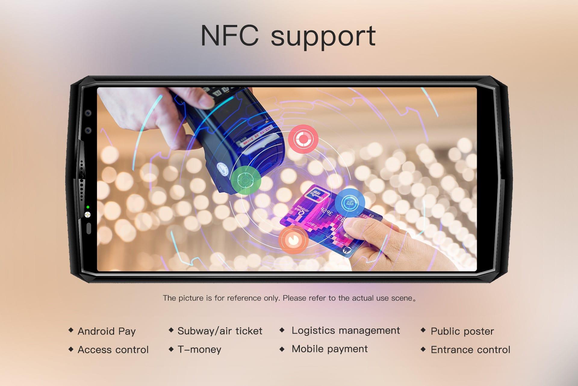 NFC OUKITEL K10