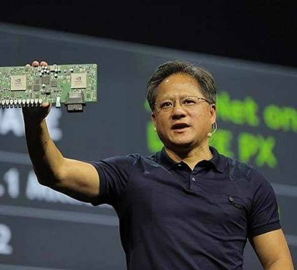 NVIDIA CEO sobre tarjetas gráficas 2018
