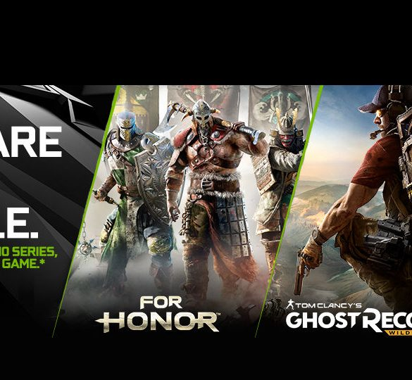 NVIDIA For honor Ghost Recon gratis