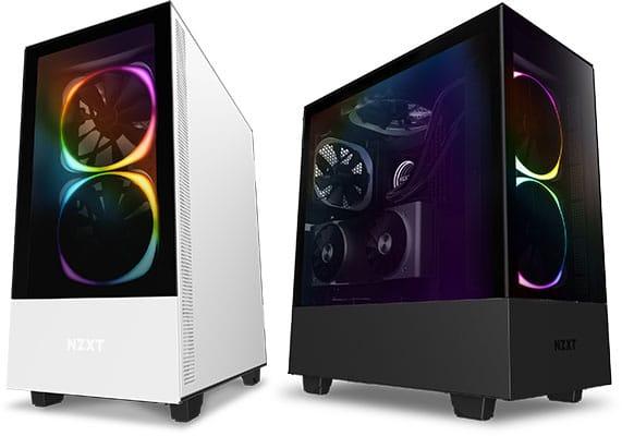 NZTX H510 Elite diseño y colores