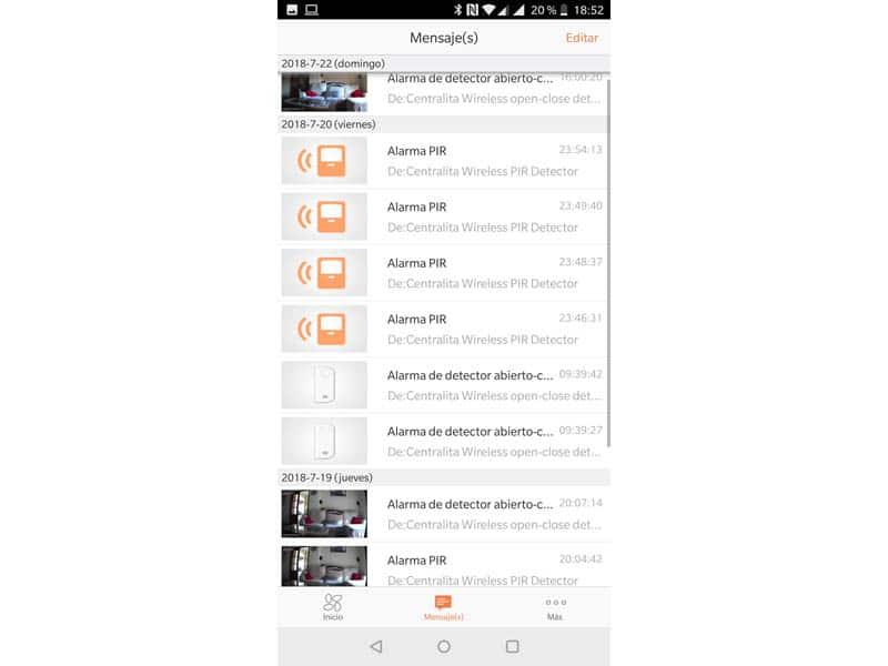 NewEsc Review Alarm Starter Kit y Camara C6T EZVIZ alarmas