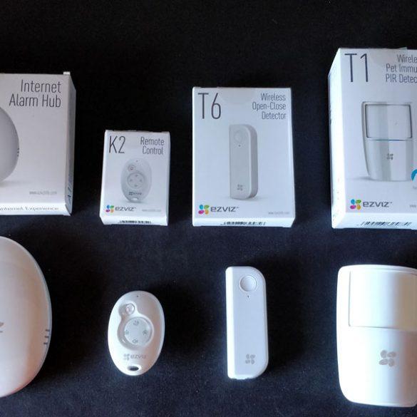 NewEsc Review Alarm Starter Kit y Camara C6T EZVIZ portada