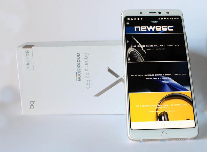 NewEsc Review BQ Aquaris X2 Pro con caja 2