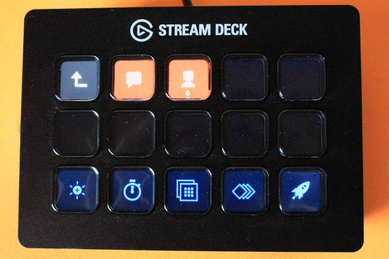 NewEsc Review Elgato Stream Deck carpeta anidada