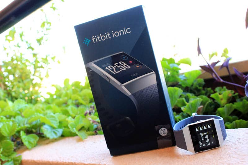 NewEsc Review Fitbit Ionic con caja