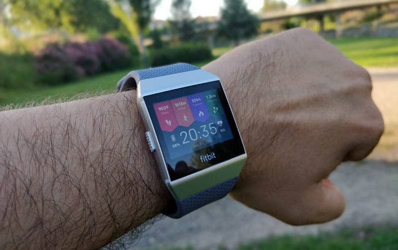 NewEsc Review Fitbit Ionic pantalla principal