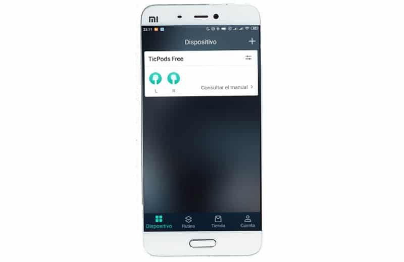NewEsc Review Mobvoi TicPods Free aplicacion