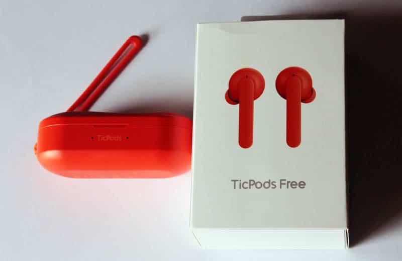 NewEsc Review Mobvoi TicPods Free estuche y caja 2
