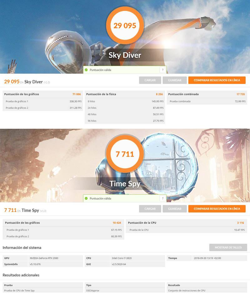NewEsc Review Nvidia GeForce RTX 2080 3DMARK