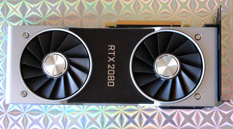 NewEsc Review Nvidia GeForce RTX 2080 frontal