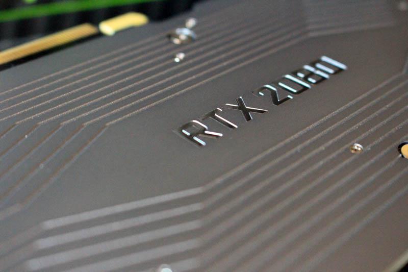 NewEsc Review Nvidia GeForce RTX 2080 logo placa