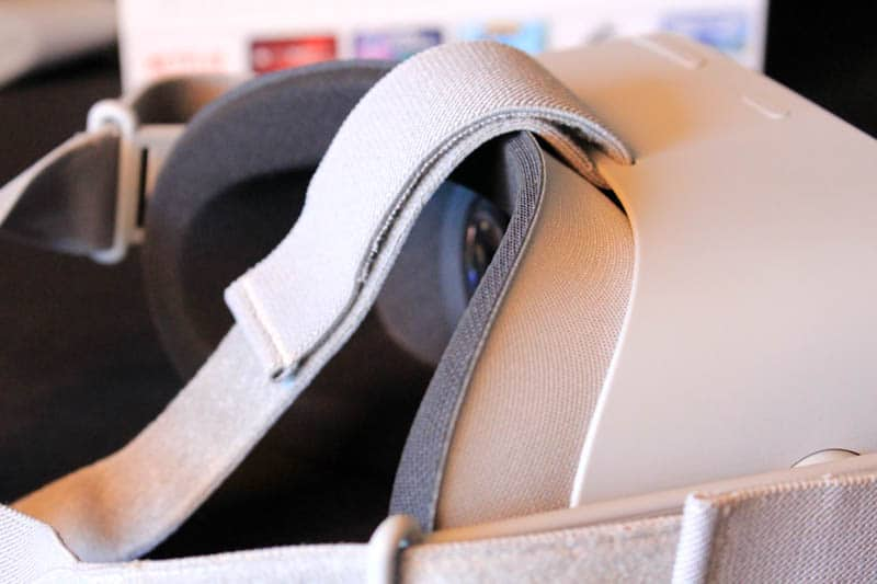 NewEsc Review Oculus Go tiras y espuma