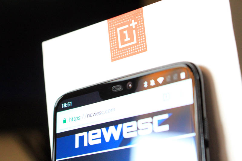 NewEsc Review OnePlus 6 notch detalle 1