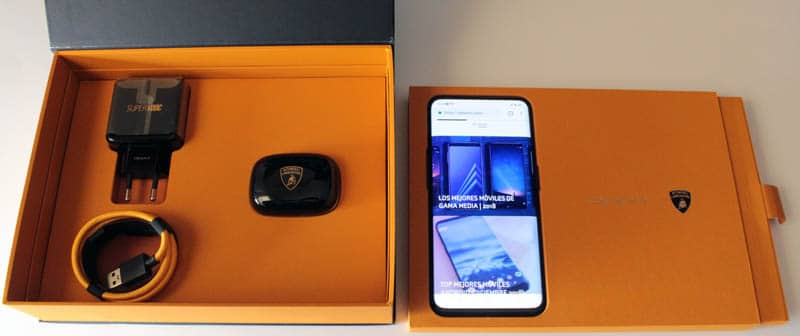 NewEsc Review Oppo Find X Lamborghini Edition packaging