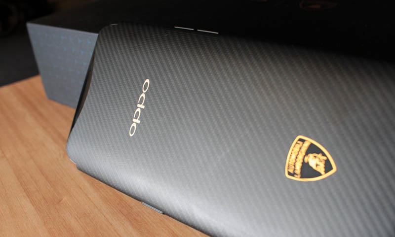 NewEsc Review Oppo Find X Lamborghini Edition trasera funda 2