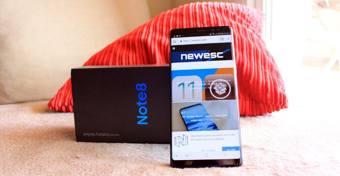 NewEsc Review Samsung Galaxy Note 8 portada