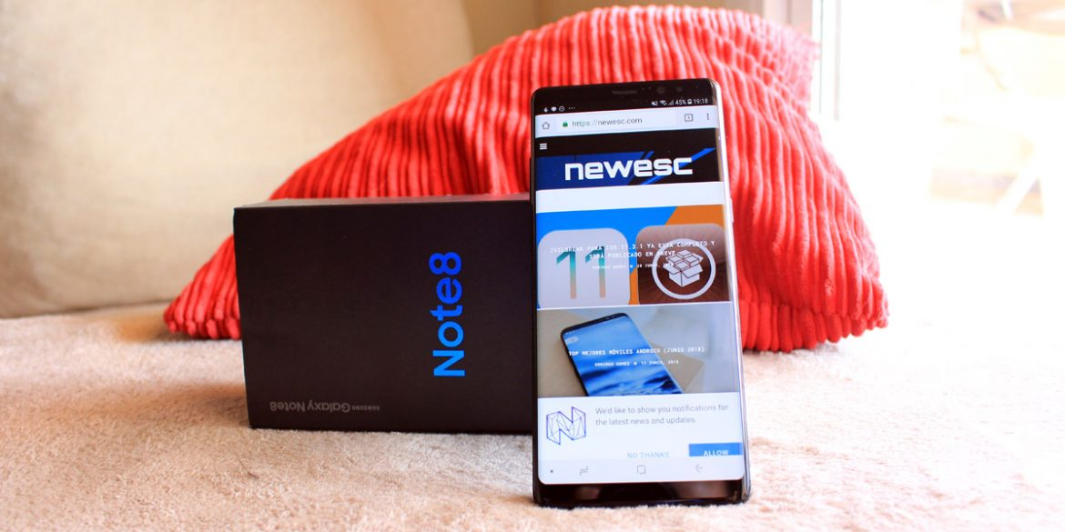 NewEsc Review Samsung Galaxy Note 8 portada