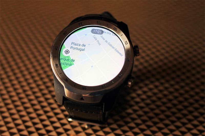 NewEsc Review TicWatch Pro Maps y GPS