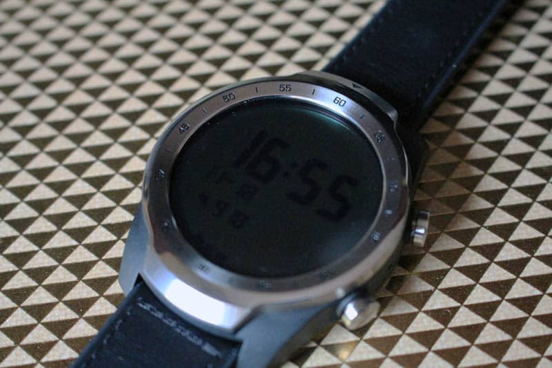 NewEsc Review TicWatch Pro modo básico 2