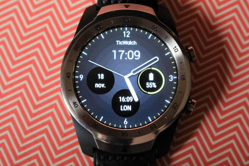 NewEsc Review TicWatch Pro superior