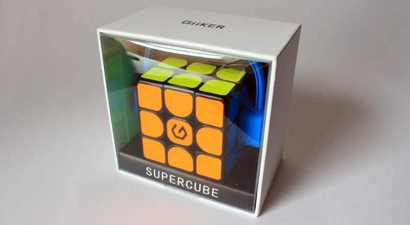 NewEsc Review Xiaomi Giiker Supercube i3S packaging