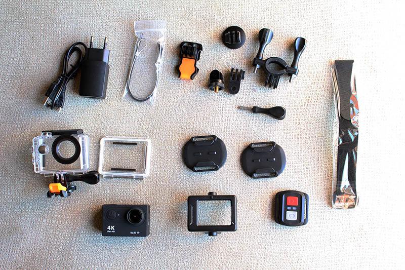 NewEsc Review cámara H9x accesorios