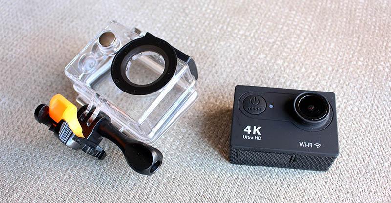 NewEsc Review cámara H9x carcasa agua