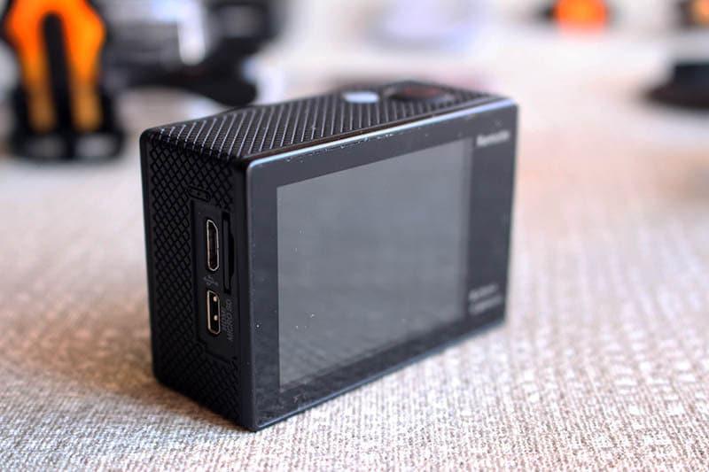 NewEsc Review cámara H9x trasera