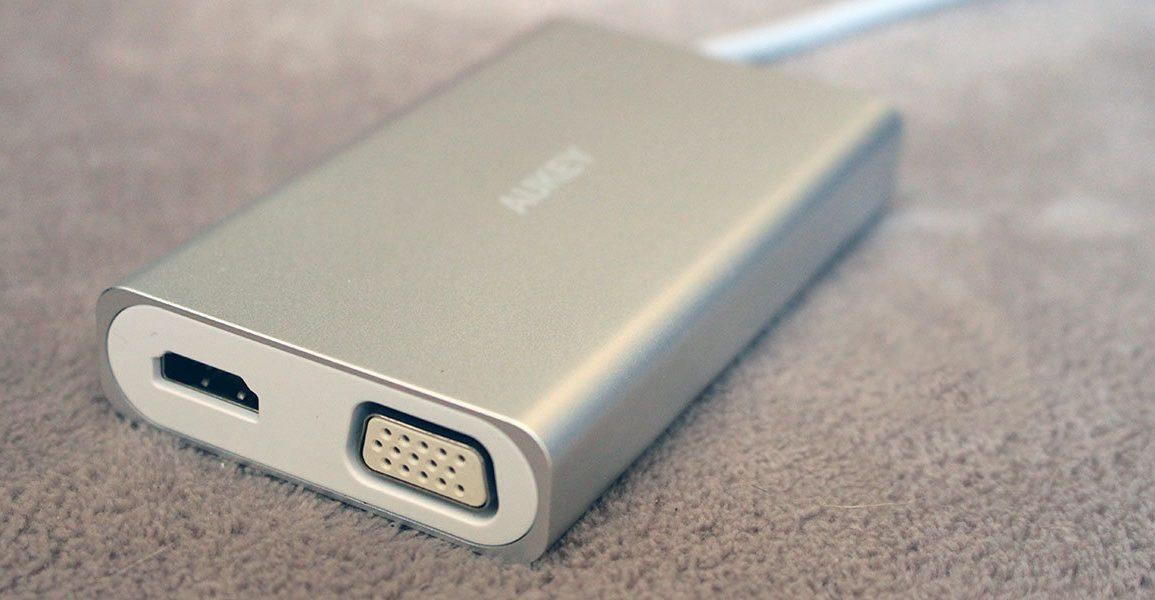 NewEsc Review hub AUKEY USB Tipo-C CB-C55 portada