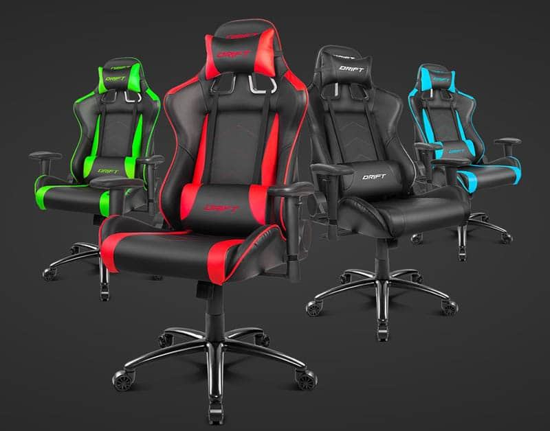 NewEsc Review silla gaming Drift DR150 Modelos