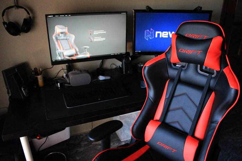 NewEsc Review silla gaming Drift DR150 general