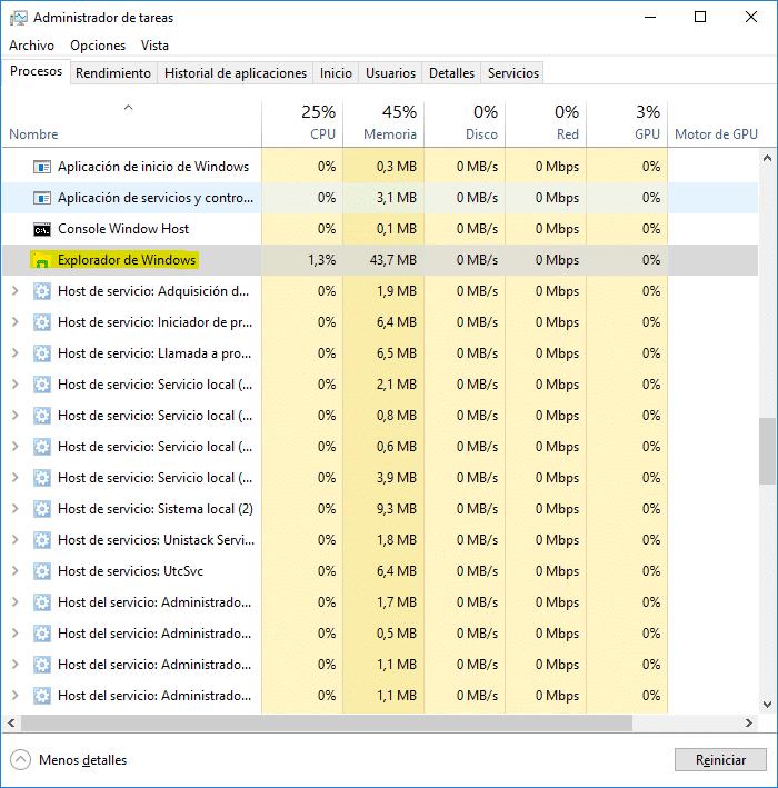 No funciona la barra de tareas en Windows 10 - La barra te tareas no se oculta automáticamente