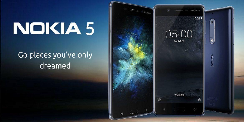 Nokia 5 Portada