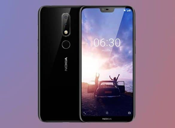 Nokia 6.1 Plus Muesca Pantalla