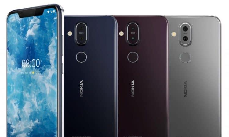Nokia 8.1 acabados