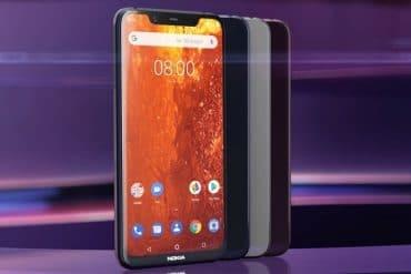 Nokia 8.1 diseño oficial
