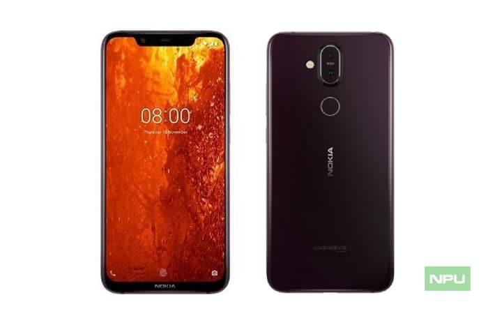 Nokia 8.1 filtración