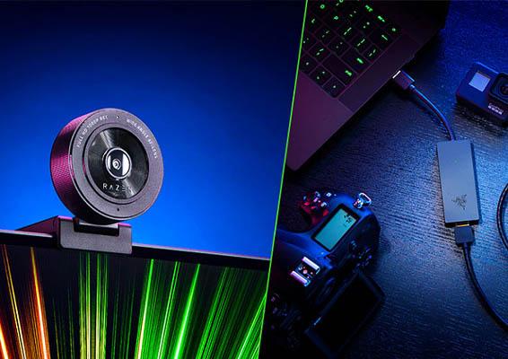 Noticia Webcam y Capturadora Razer