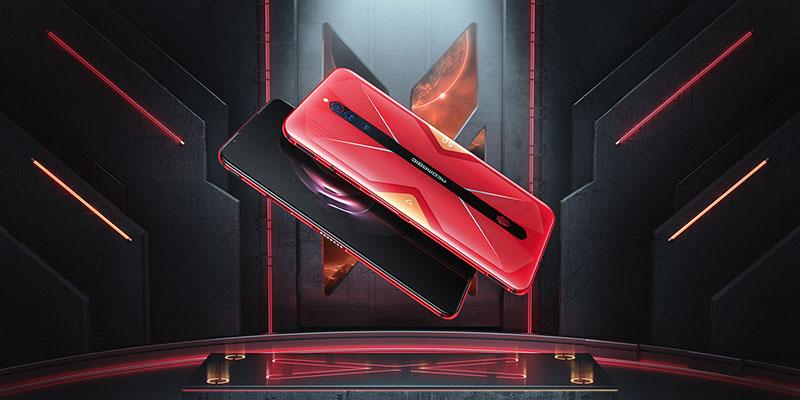 Nubia Red Magic 5G rojo