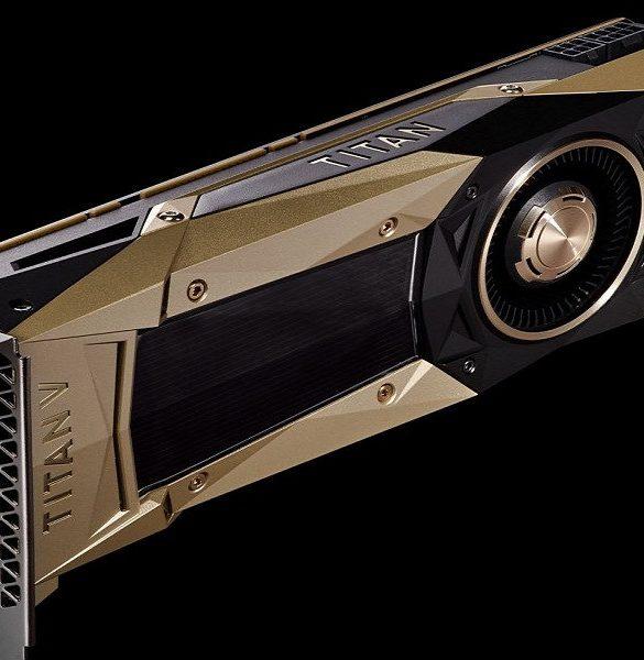 Nvidia Titan V Portada