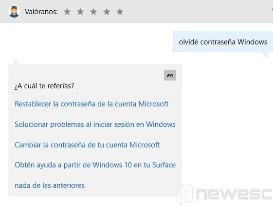 Obtener ayuda Windows 10 1 1