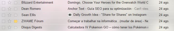 Ojo emails google