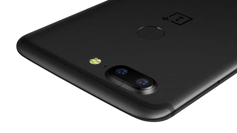OnePlus 5T cámaras